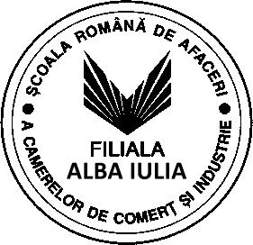 logo Scoala Romana de Afaceri Alba Iulia